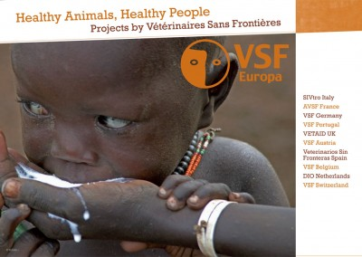 """Leaflet """"Healthy animals, healthy people"""": projects by VSF"""