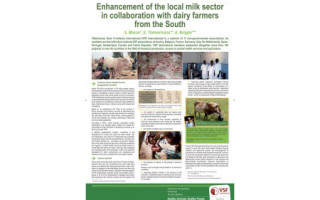 Poster: Enhancement of the local milk sector  in collaboration with dairy farmers from the South