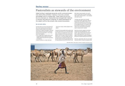 Pastoralists as stewards of the environment