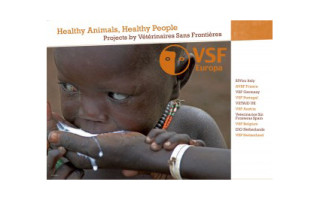 "Leaflet ""Healthy animals, healthy people"": projects by VSF"