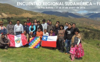 Photo gallery: pastoralists meeting in Latin America
