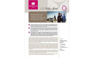 Des services de santé animale de qualité adaptés au pastoralisme en Afrique de l'Ouest