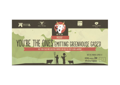 Comic Green House Gas emissions