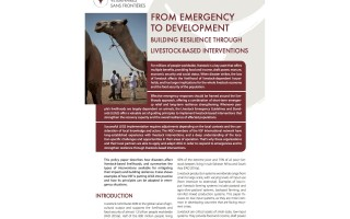 From Emergency to Development. Building Resilience through Livestock-based Interventions